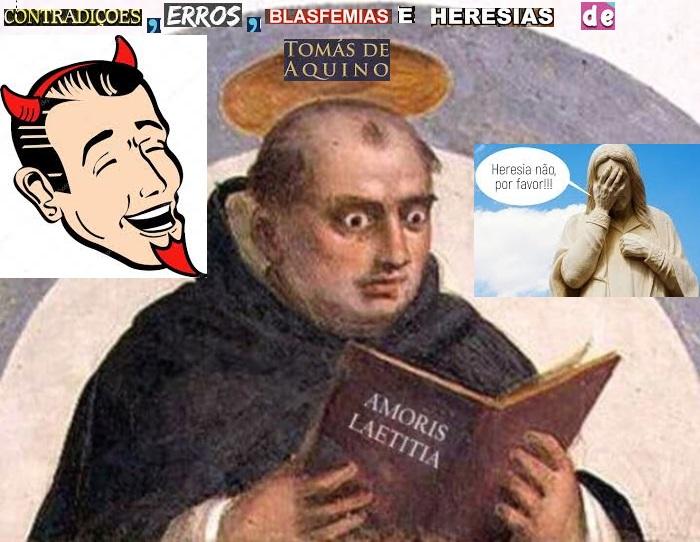 Santo Tomás de Aquino refutado os hereges